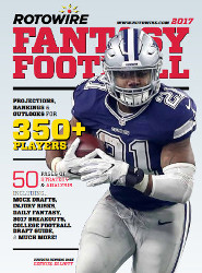 Cover of Rotowire Fantasy Football Guide Magazine