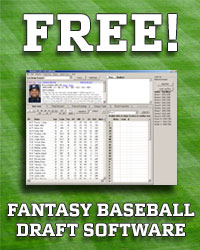 Free Fantasy Baseball Draft Software